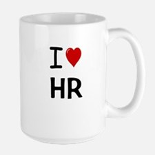 I Love HR Human Resources Mugs