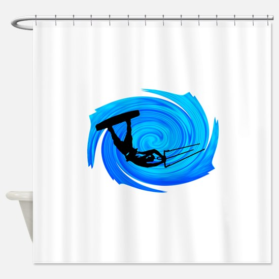 KITEBOARD Shower Curtain