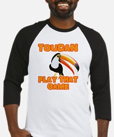 Cute Toucan Baseball Jersey
