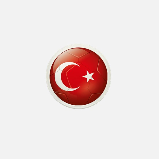 Turkey Soccer Mini Button
