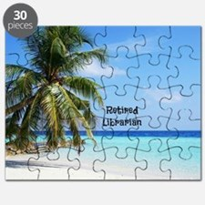Cute Librarian retirement Puzzle