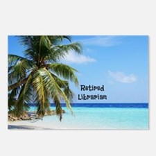 Cute Retired librarian Postcards (Package of 8)