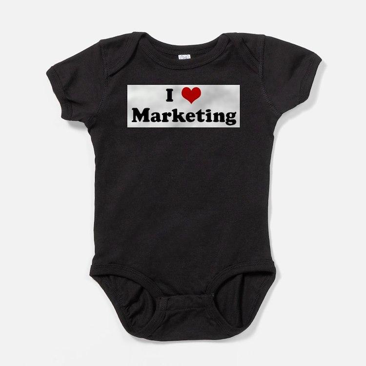 Cute Marketing Baby Bodysuit