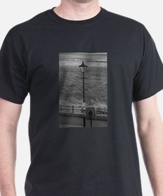 Gas Light In Lytham St. Annes - England T-Shirt