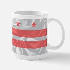 Washington DC State Silk Flag Mugs