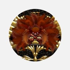 Harvest Moons Masquerade Mask Button