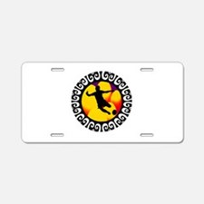 GOAL Aluminum License Plate
