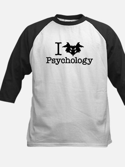 I Heart (Rorschach Inkblot) Psychology Baseball Je