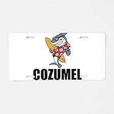 Cozumel Aluminum License Plate