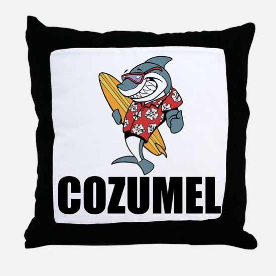 Cozumel Throw Pillow