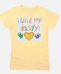 Funny Fathers day Girl's Tee