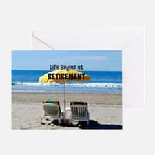 Funny Chairs Greeting Card