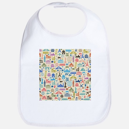 world Travel Bib
