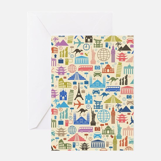 world Travel Greeting Cards