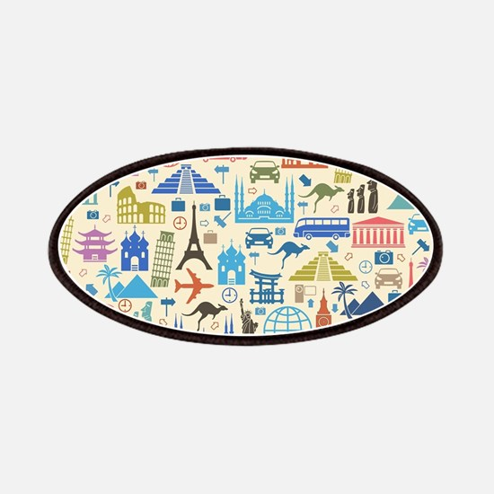 world Travel Patch
