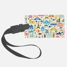 world Travel Luggage Tag
