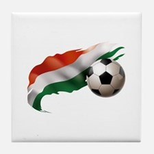 Hungary Soccer Tile Coaster