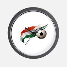 Hungary Soccer Wall Clock