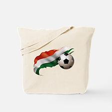 Hungary Soccer Tote Bag