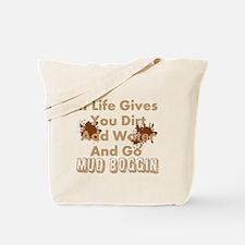 MUD BOGGIN Tote Bag