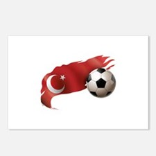 Turkey Soccer Postcards (Package of 8)