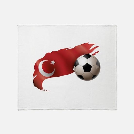 Turkey Soccer Stadium Blanket