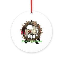 Tumbleweed Horse Ornament (Round)