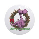 Dusty Dragon Ornament (Round)