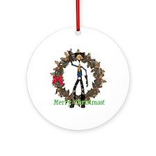 Hay Billy Ornament (Round)