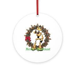 Chomper Ornament (Round)