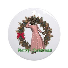 Big Bad Wolf Ornament (Round)