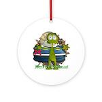 Al Alien Ornament (Round)