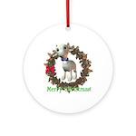 Lamb Ornament (Round)