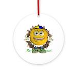 ASL Boy Ornament (Round)