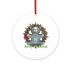 Teddy Bear Ornament (Round)