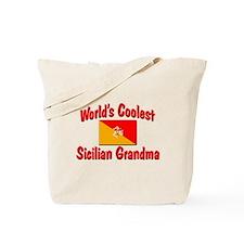 Coolest Sicilian Grandma Tote Bag