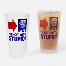 Unique Im with stupid Drinking Glass