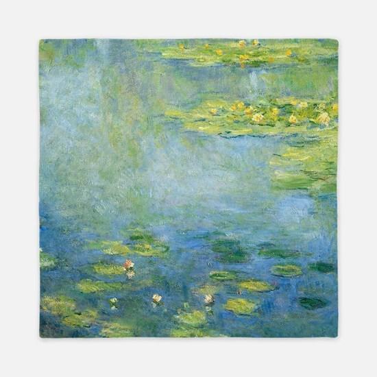 Claude Monet - Waterlilies Queen Duvet