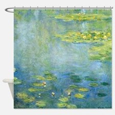 Claude Monet - Waterlilies Shower Curtain
