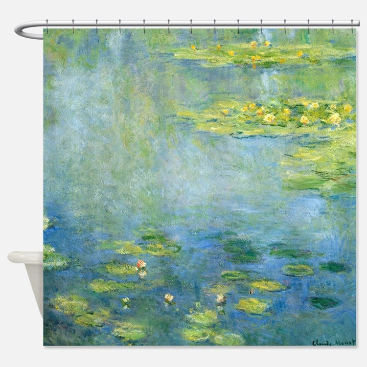 Claude Monet - Waterlilies Shower Curtain