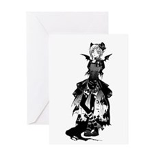 halloween costume Greeting Cards