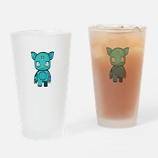 Stitchy the Monster Drinking Glass