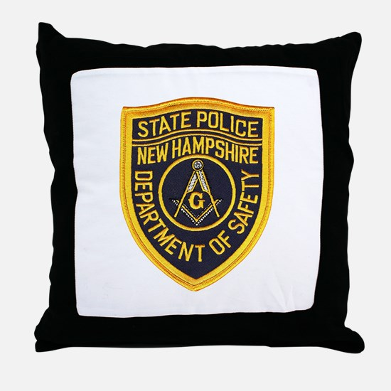NHSP Freemason Throw Pillow