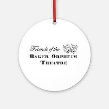 Friends of the Baker Orpheum Theatre Round Ornamen