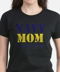 Navy Mom Proud of Son T-Shirt