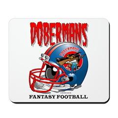 Fantasy Football - Dobermans Mousepad