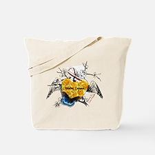 Throat Cancer Awareness Tote Bag
