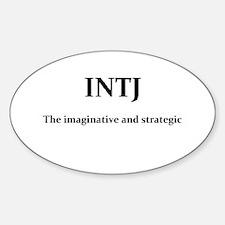 INTJ - The imaginative and strategic Decal