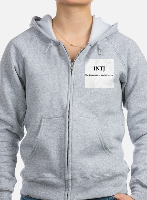 INTJ - The imaginative and stra Zip Hoodie