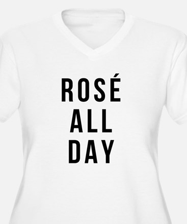 Rose All Day Plus Size T-Shirt